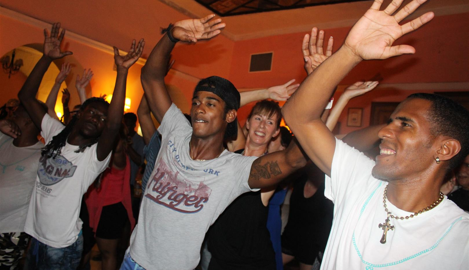 Key2Cuba dancers in club, Havana, Cuba