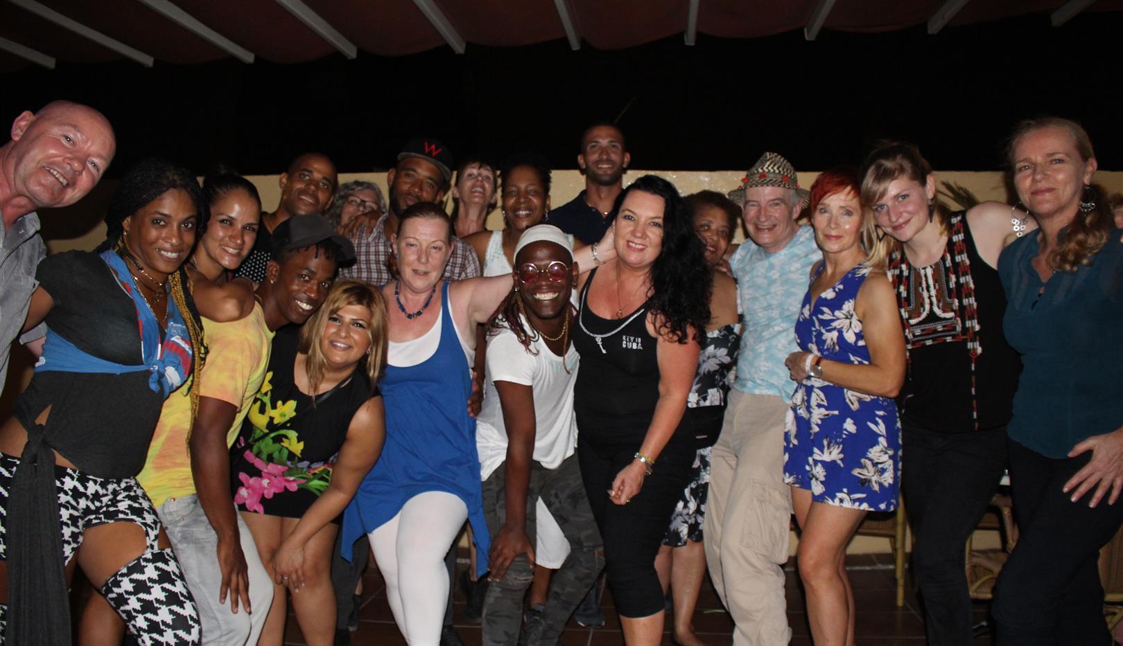 Key2Cuba group shot, Havana, Cuba