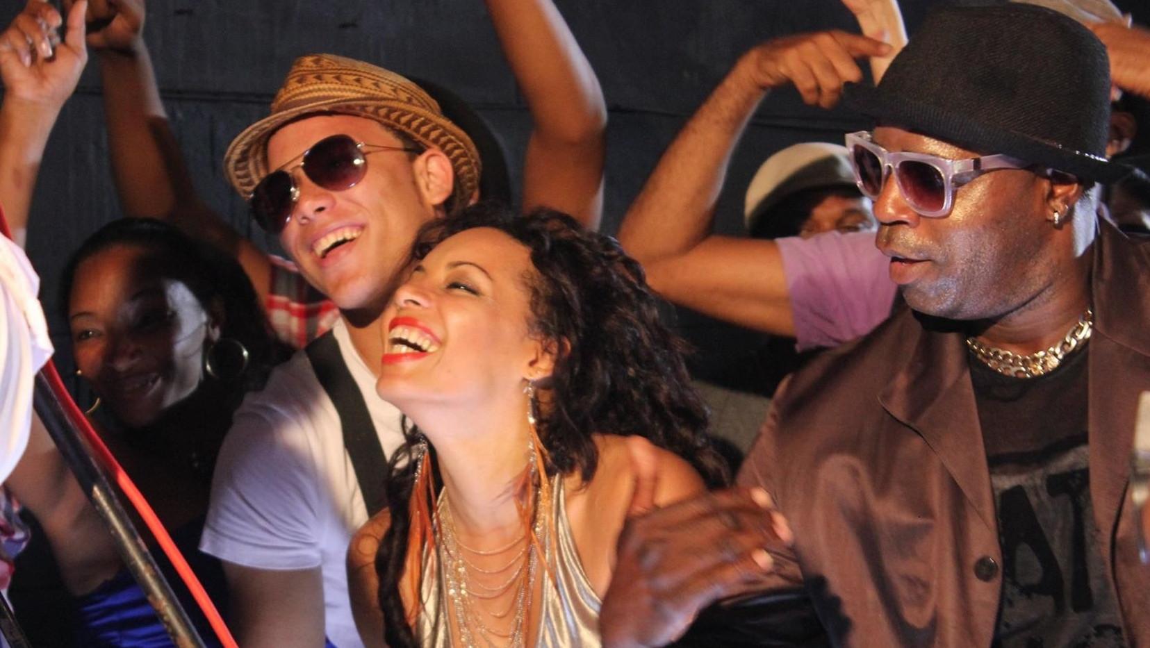 Club dance, Havana, Cuba
