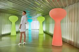 Éclairage - Vondom - agencement - O Grands Bains - lampe design