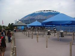 Parasol professionnel Bahama Event - Parasols Ronds Ø 3 m - Ø 3,5 m - Ø 4m - Ø 4,5m - Ø 5 m