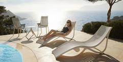 chaise longue - Ibiza - Vondom - mobilier de terrasse - 02