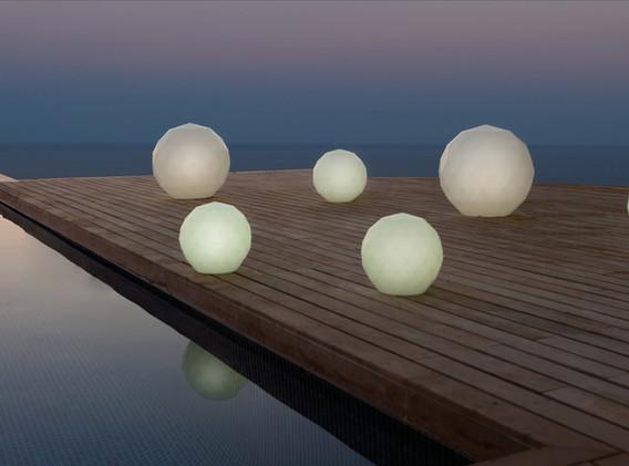 Lampes - Vondom - LED RGB - éclairage - Vases -02