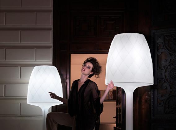 Lampes - Vondom - LED RGB - éclairage - Vases