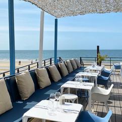 brasserie - la barbade - plage - la baule - vondom