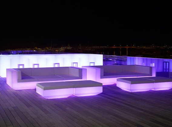 Lumière - Vondom - LED RGB - Comptoir - bar - Vela