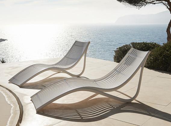 transat - chaise longue - Vondom - Collection Ibiza