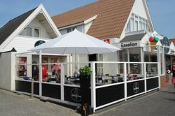 Parasol professionnel - Parasol Event Rond ø4m - Bahama - Restaurant - parasol professionnel