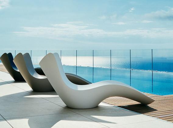 transat - chaise longue - Vondom - Collection Surf