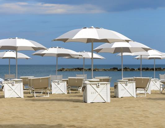 Parasol Narcisse - Crema - Parasol plage - O Grands Bains