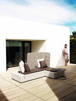 Collection Vondom - salon de jardin - canapé design - terrasse -  salon extérieur comtemporain