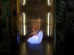 Éclairage - Vondom - agencement - O Grands Bains - canapé lumineux