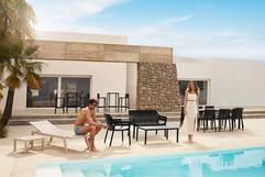 chaise longue - Spritz- Vondom - mobilier de terrasse