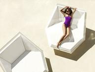Daybed Vondom - Modèle Faz - plage privée