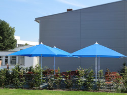 parasol professionnel - Grand Parasol Bahama Event - Parasols carrés 2,5x2,5 m - 3x3m - 3,5x3,5m -