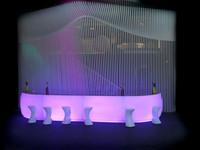 Comptoir Bar Vondom - Fiesta - Eclairage - LED RGBW DMX BATTERIE 4