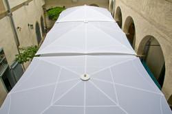 Parasol Géant Bahama - 5x4m - Jumbrella