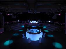 Comptoir Bar Vondom - Fiesta - Eclairage - LED RGBW DMX BATTERIE