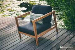 Mobilier de Terrasse_Apple Bee_LaCroix_Lounge_SVLK Teak Natur_O Grands Bains