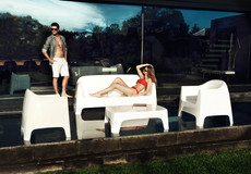 Collection vondom - salon de jardin - canapé design - terrasse - polypropylène -02