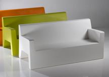 Collection vondom - salon de jardin - canapé design - terrasse - polypropylène