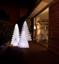 Lampe - vondom - agencement - O Grands Bains - sapin lumineux