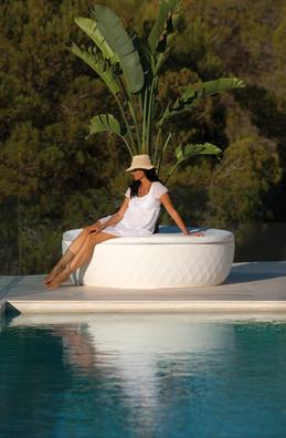 Vondom - Banc - Vases île - Mobilier de Jardin