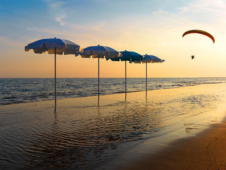 Parasol Poseidon - Crema - O Grands Bains - 03