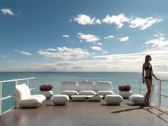 Collection vondom - salon de jardin - canapé design - terrasse - plage privée