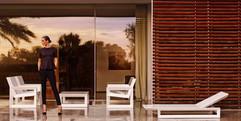 Frame chaise longue Vondom -  par Ramon Esteve