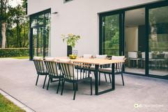 Mobilier de Jardin_Apple_Bee_Condor_Dining_Teak SVLK_Natura_O Grands Bains