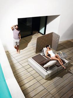 Collection vondom - salon de jardin - canapé design - terrasse - paroi design - 03