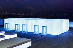 Comptoir Bar Vondom - Vela - Eclairage - LED RGBW DMX