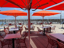 Parasol Bahama Easy - 2,5x2,5m - Restaurant -,Le Victoria - O grands Bains