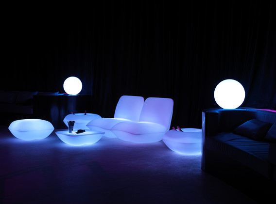 Lumière - Vondom - LED RGB - salon de jadin - Pillow