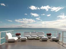 Collection vondom - salon de jardin - canapé design - terrasse - plage de piscine