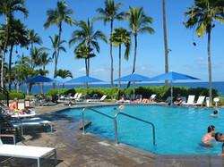Parasols Géants Jumbrella - carré 4x4m - Bahama - Plage de Piscine - Hôtel - 02