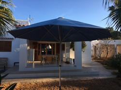 Parasol Bahama Easy - Poignée ouverture - Parasol Rond  ø3,5m - Hôtel