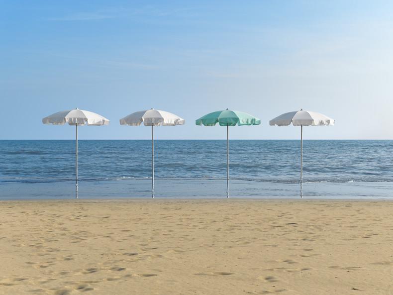 Parasol Poseidon - Crema - O Grands Bains - 01