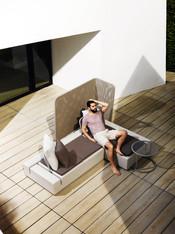 Collection vondom - salon de jardin - canapé design - terrasse - paroi design