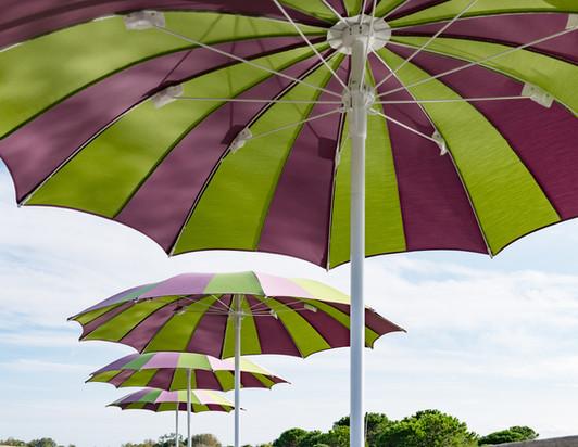 parasol pégasse - crema - parasol plage - parasol piscine