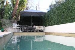 Parasol Bahama Easy - 3x3m - Fixation Mobile - Mobilier de terrasse - Particulier - Plage de Piscine