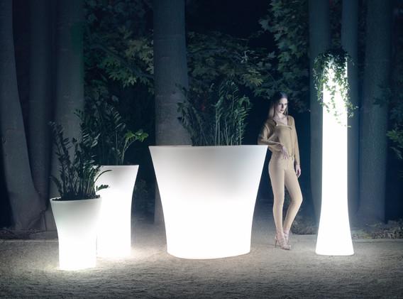 Lumière - Vondom - LED RGB - Pots -Bones