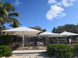 Parasols Géants - Jumbrella XL - Parasol rectangle 6x5,14m - Bahama
