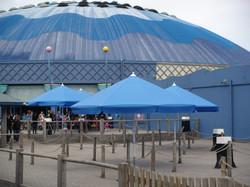 Parasol professionnel - bahama - modèle Event ø250cm - O grands Bains