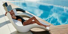 Surf chaise longue Vondom - transat