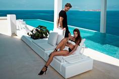 Collection vondom - salon de jardin - canapé design - terrasse - agencement moderne