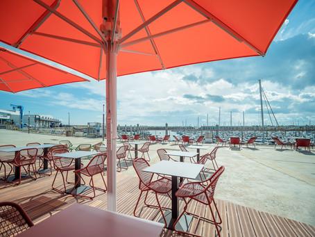 Parasol Géant Jumbrella Bahama. Ouverture et fermeture du parasol