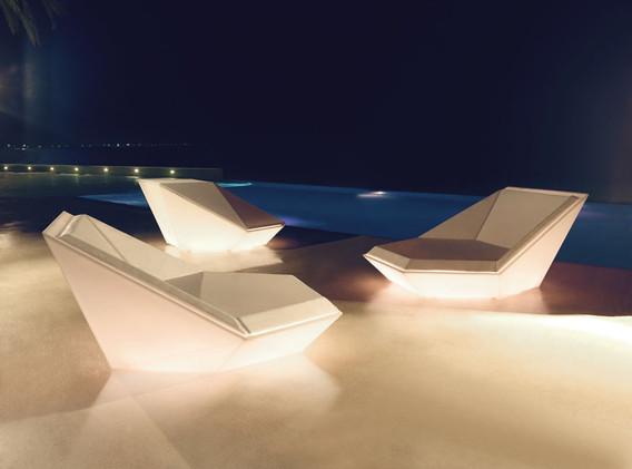 Daybed - Vondom - Collection Faz - LED