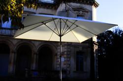 Parasol Bahama Easy - 4x4m - Fixation Mobile - Palace